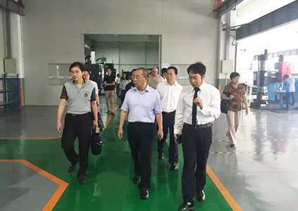 2016年07月宁波北仑区政协刘主席参观raybet欧洲股份