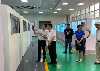 2019年8月29日下午福建省泉州市领导一行考察雄鹰股份